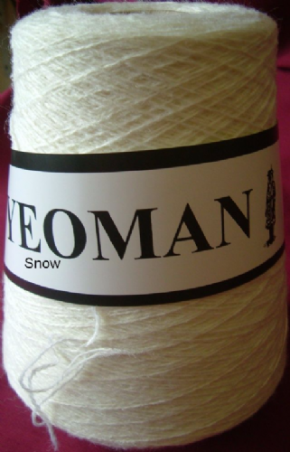 Yeoman Fifty Fifty 50/50 Yarn - Snow White